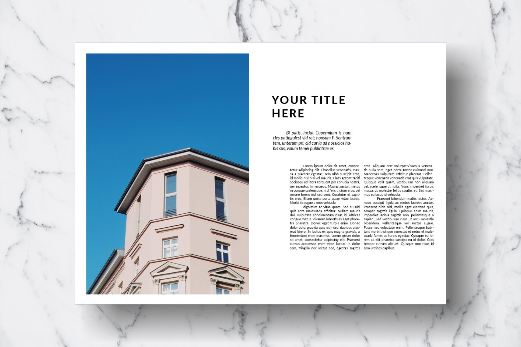 Magazine Template Vol. 13 example image 9