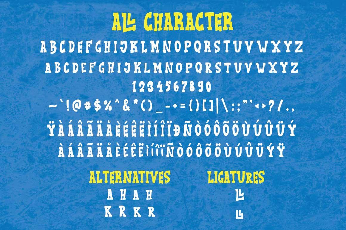 KidBull Typeface example image 4