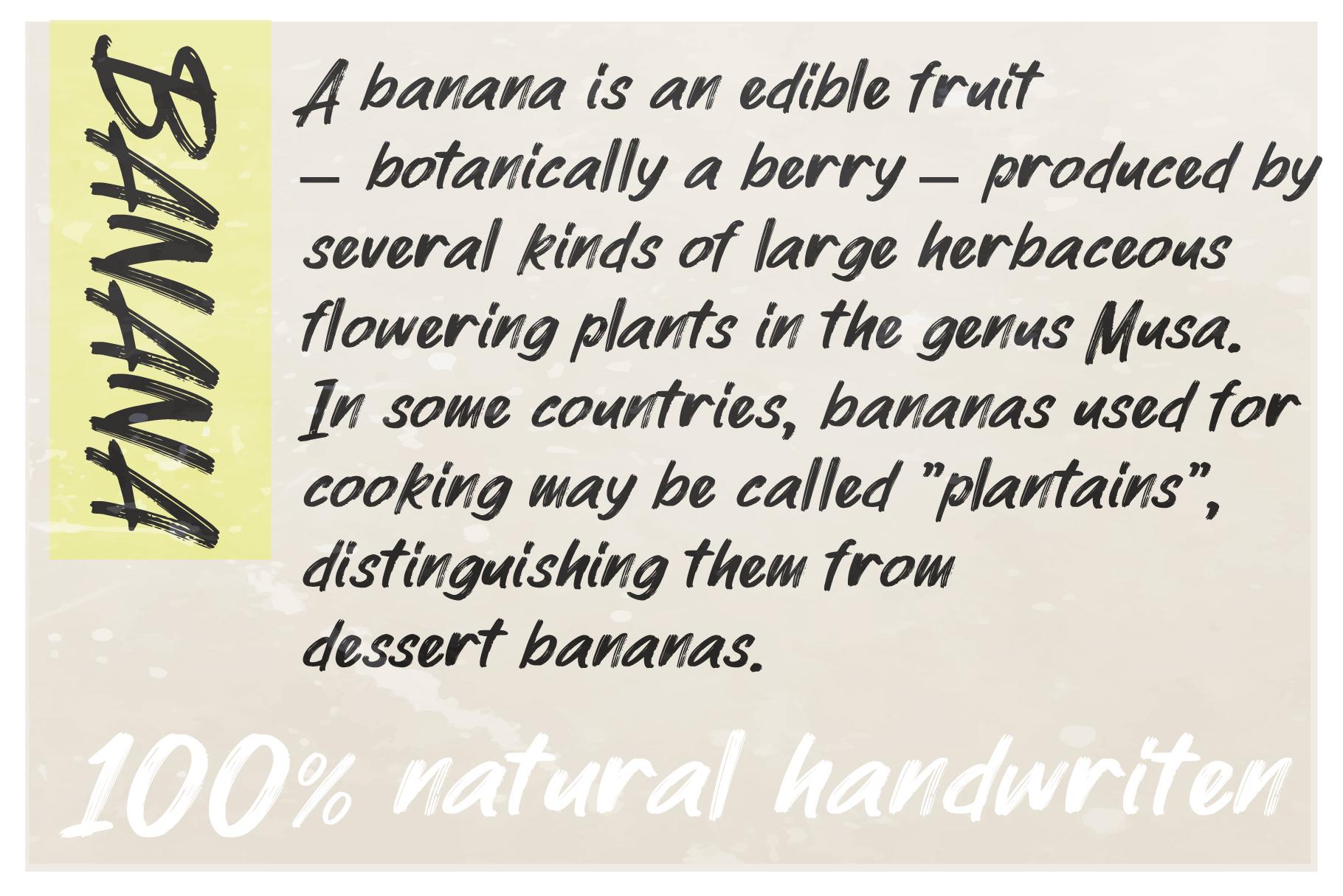 MyBread Banana Font Duo example image 7