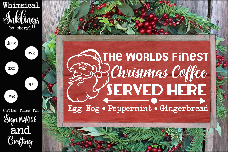 Christmas Coffee SVG example image 1