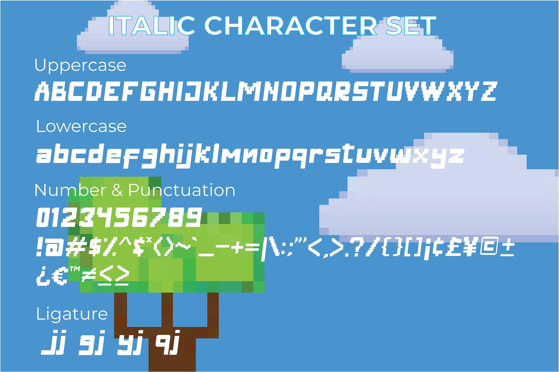 Digitizer - Pixel Font Family example image 5