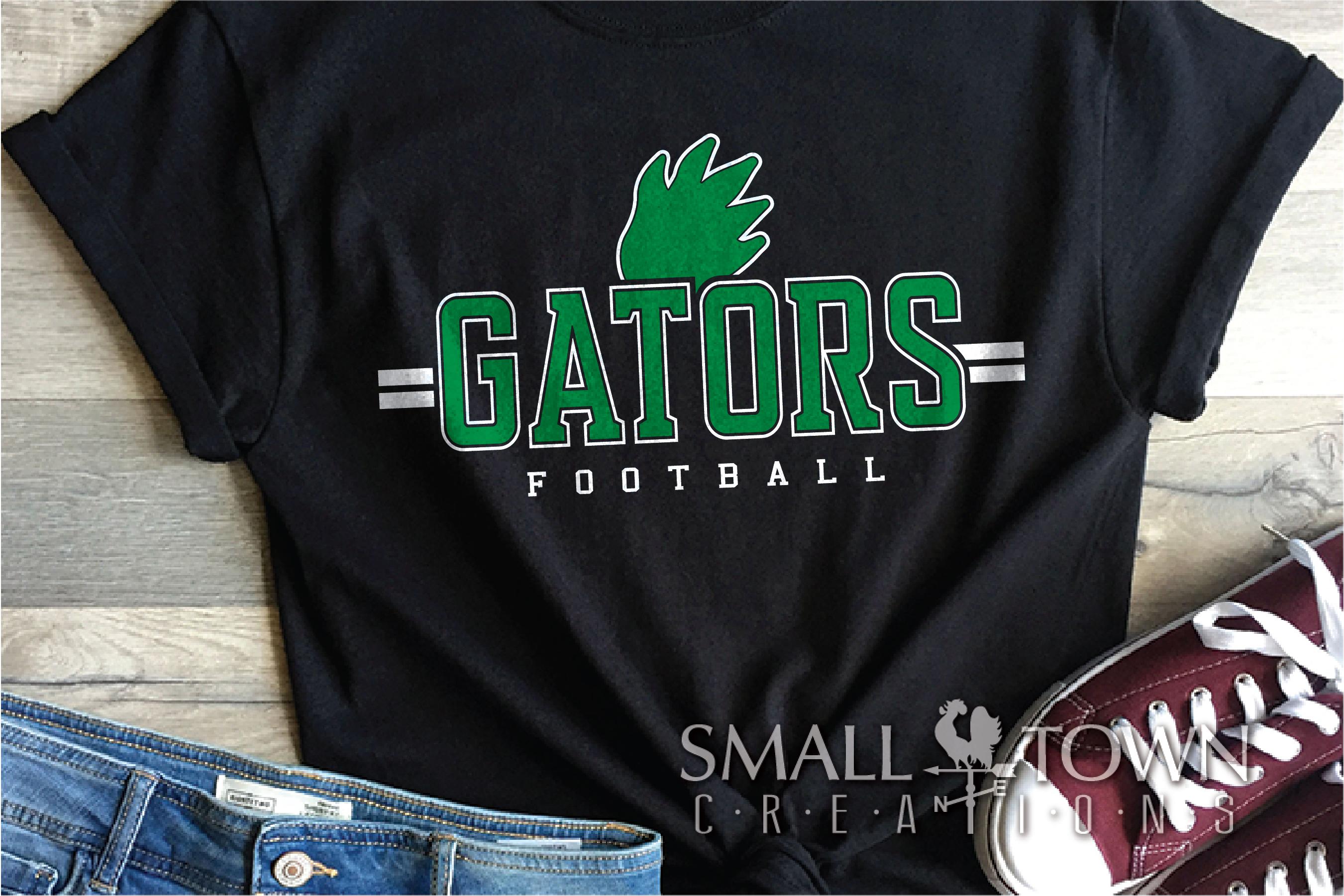 Gator Football Team, Gators Claw Print, PRINT, CUT & DESIGN example image 1