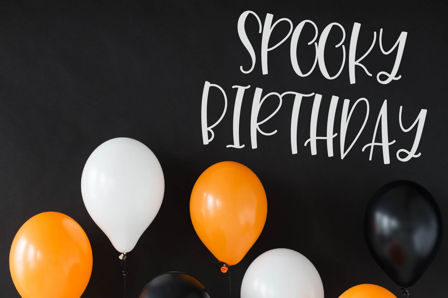 Leggy Monster - A Halloween Spider Font! example image 2