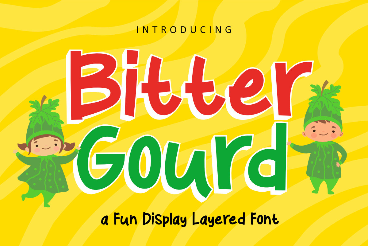 Bitter Gourd Font example image 1