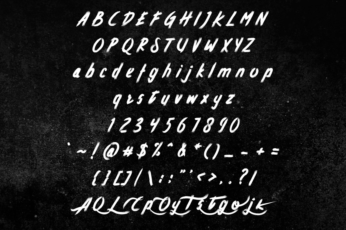 Atorak Typeface example image 5