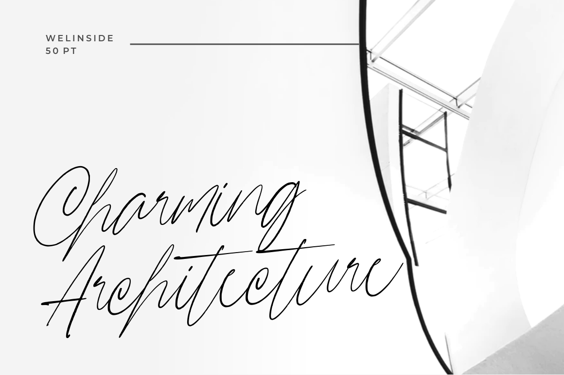 Wellinside - Handwritten Font example image 2