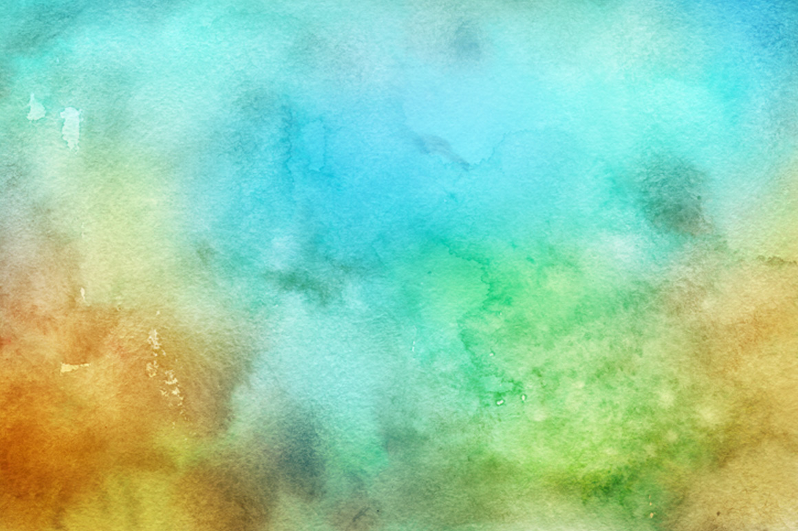30 Hand Made Watercolor Backgrounds example image 6