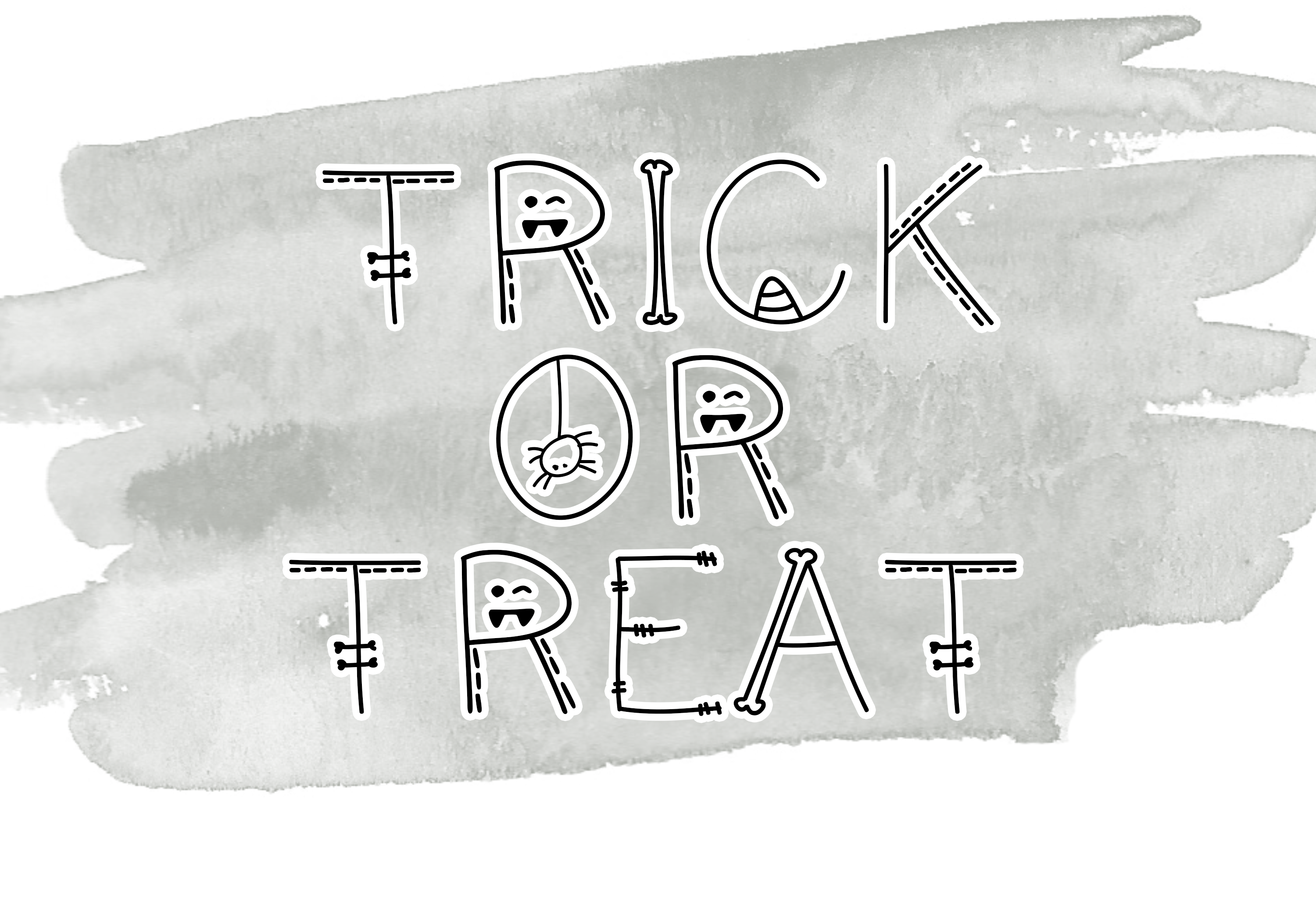 Skeleton - A Fun Halloween Font example image 4