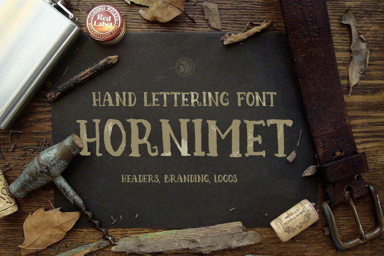 Hornimet Font example image 2