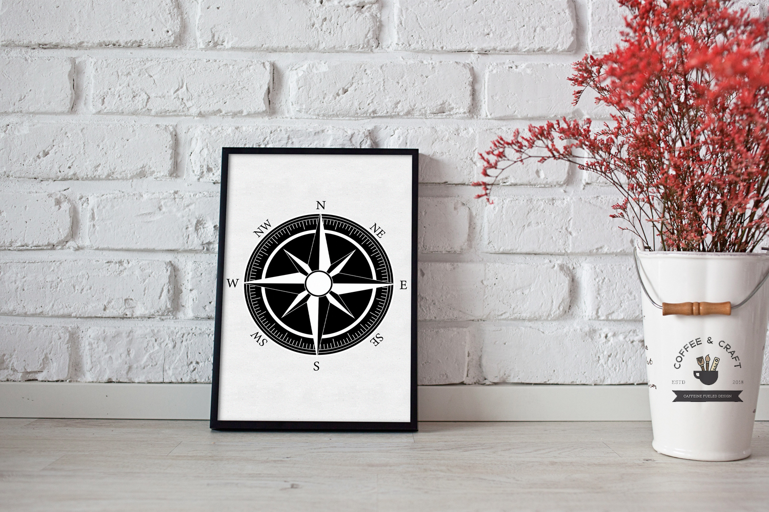 Compass Silhouettes example image 5