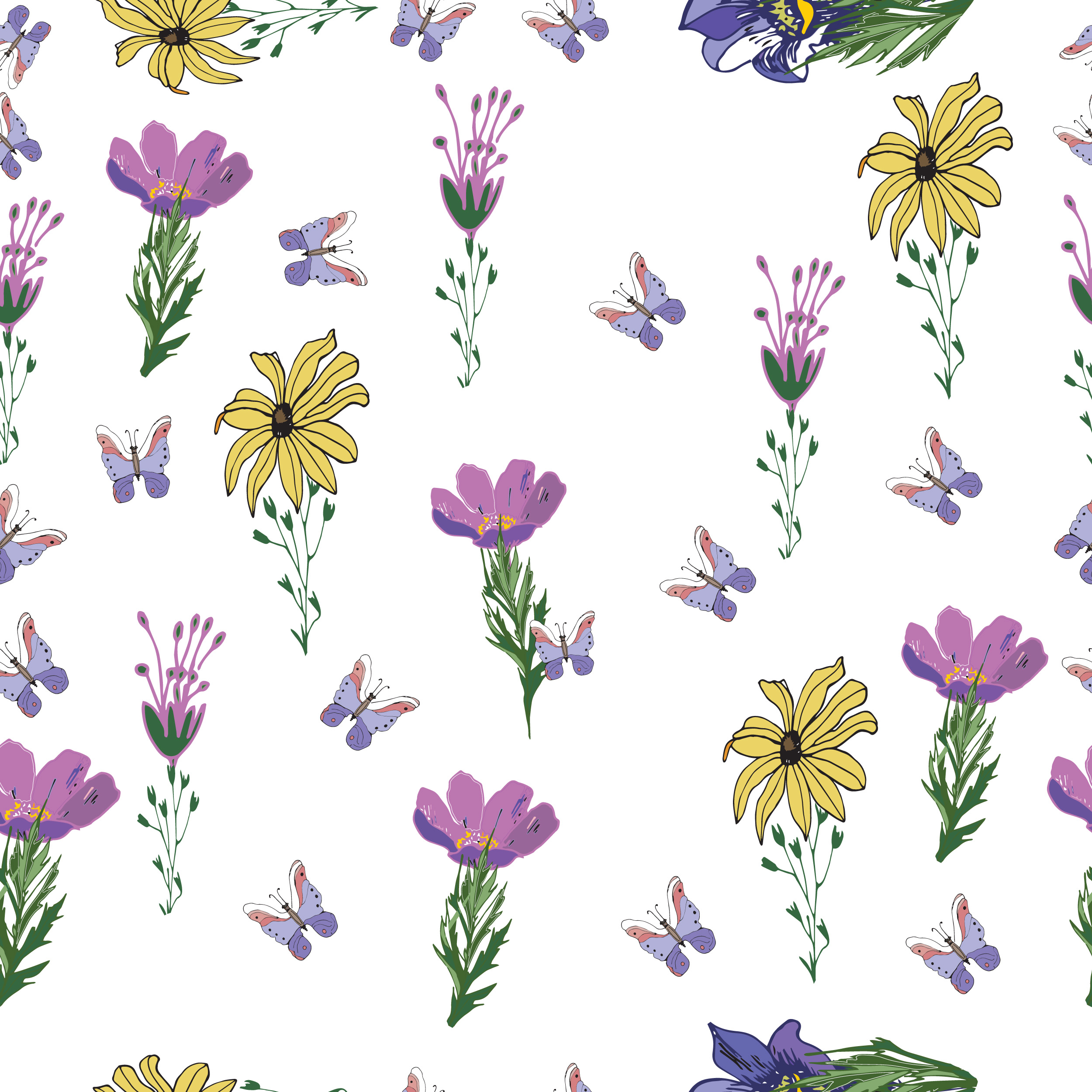 8 Seamless Easter Patterns example image 8