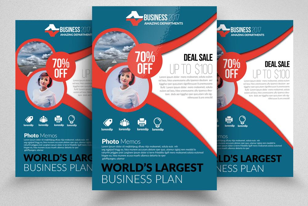 10 Corporate Flyer Templates Bundle example image 5
