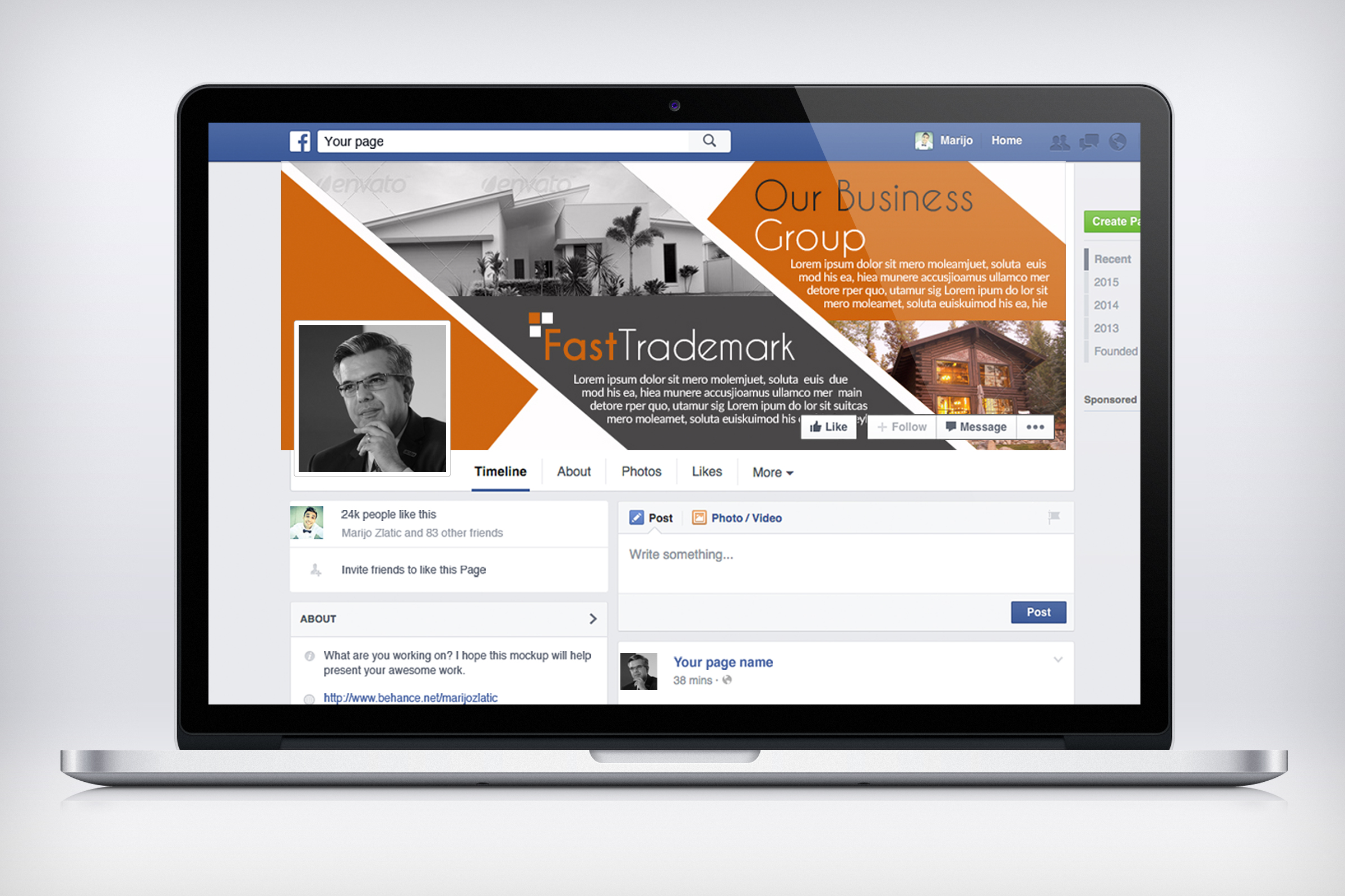 Real Estate Facebook Timeline Cover example image 2