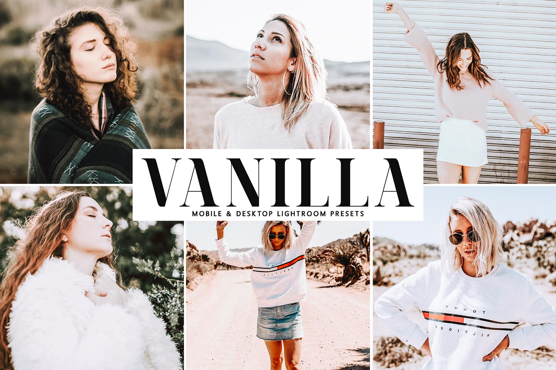 Vanilla Mobile & Desktop Lightroom Presets example image 1