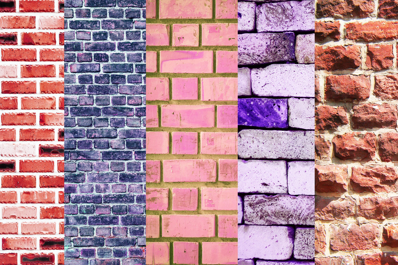 Wall Digital Paper Pack, Brick Wall Digital Paper Pack,Wall example image 2