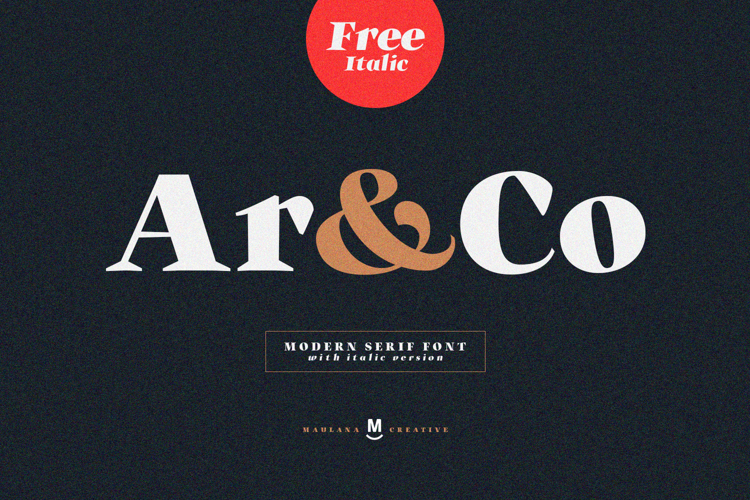 Ar and Co Serif Font example image 1