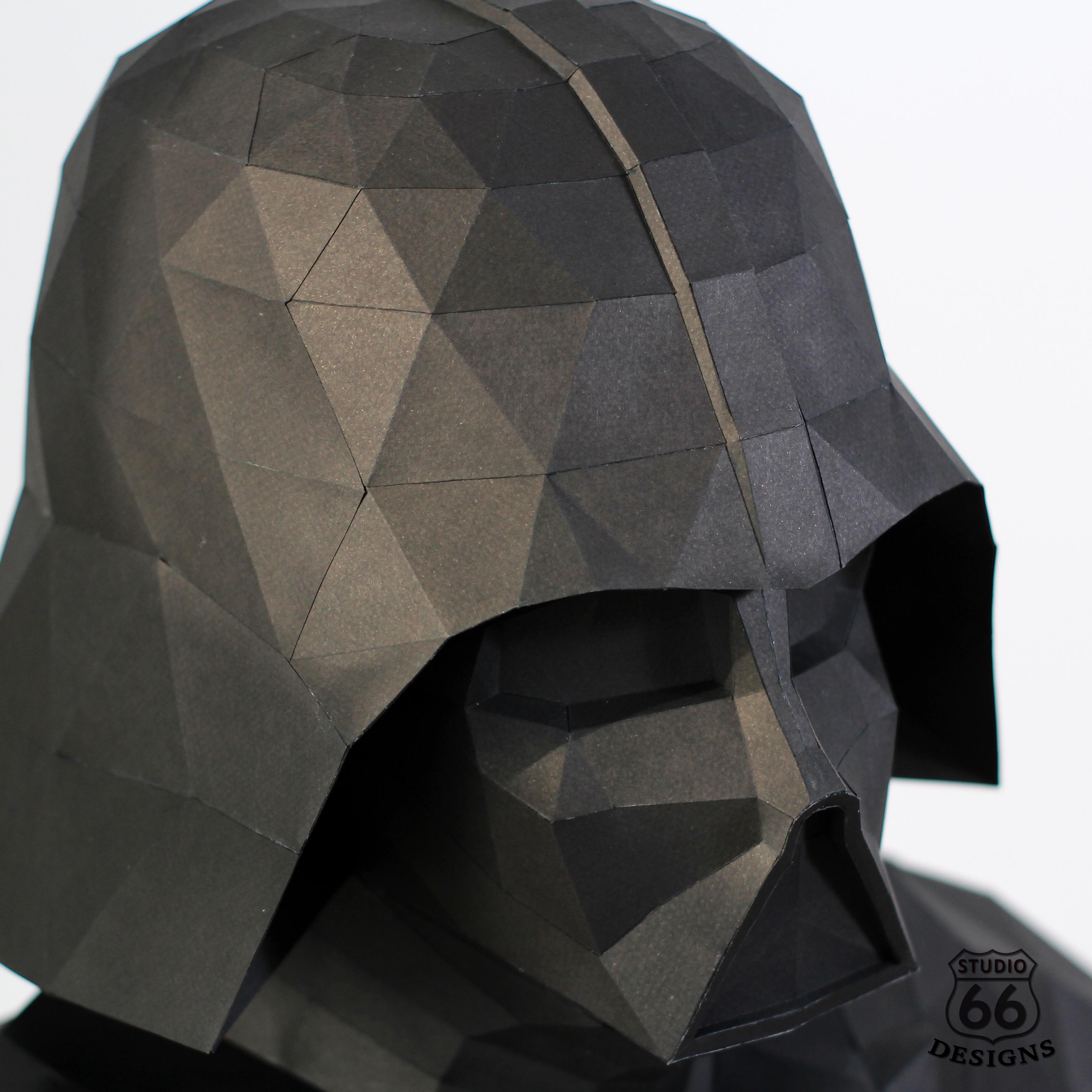 Darth Vader Helmet Cardboard Template American Bathtub Refinishers