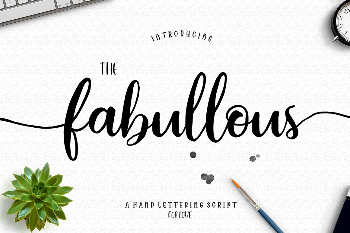 The Authentic Script Font Bundle example image 3