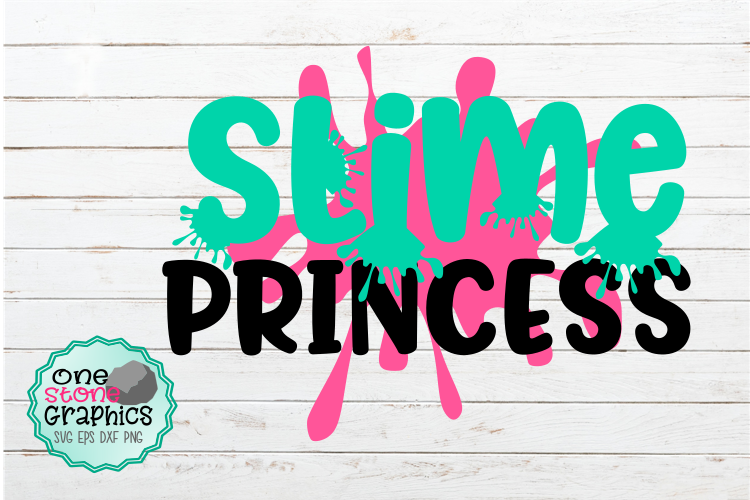 slime princess svg,slime svg,slime birthday svg example image 2