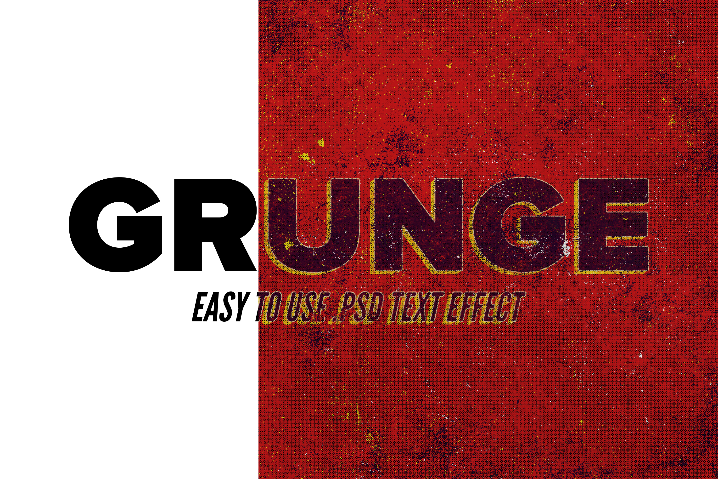 Grunge - Vintage Text Effect example image 2