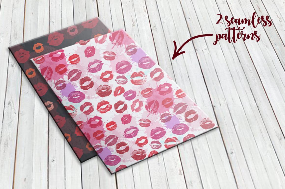 56 Lips big set. example image 4