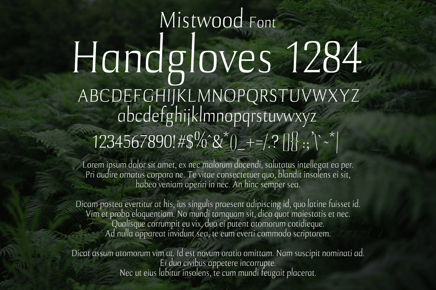 Mistwood Font example image 2