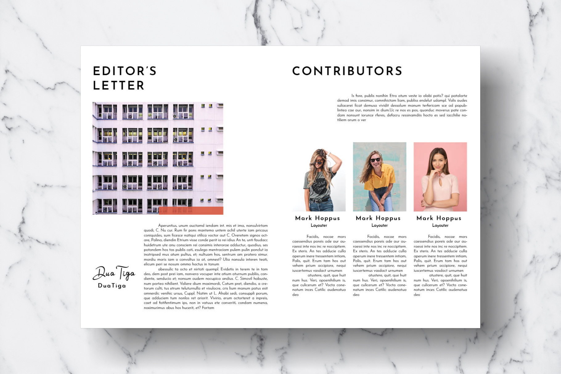 Magazine Template Vol. 16 example image 3
