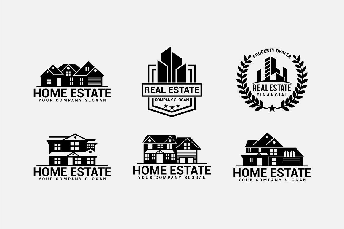 Real Estate Logo & Badges example image 10