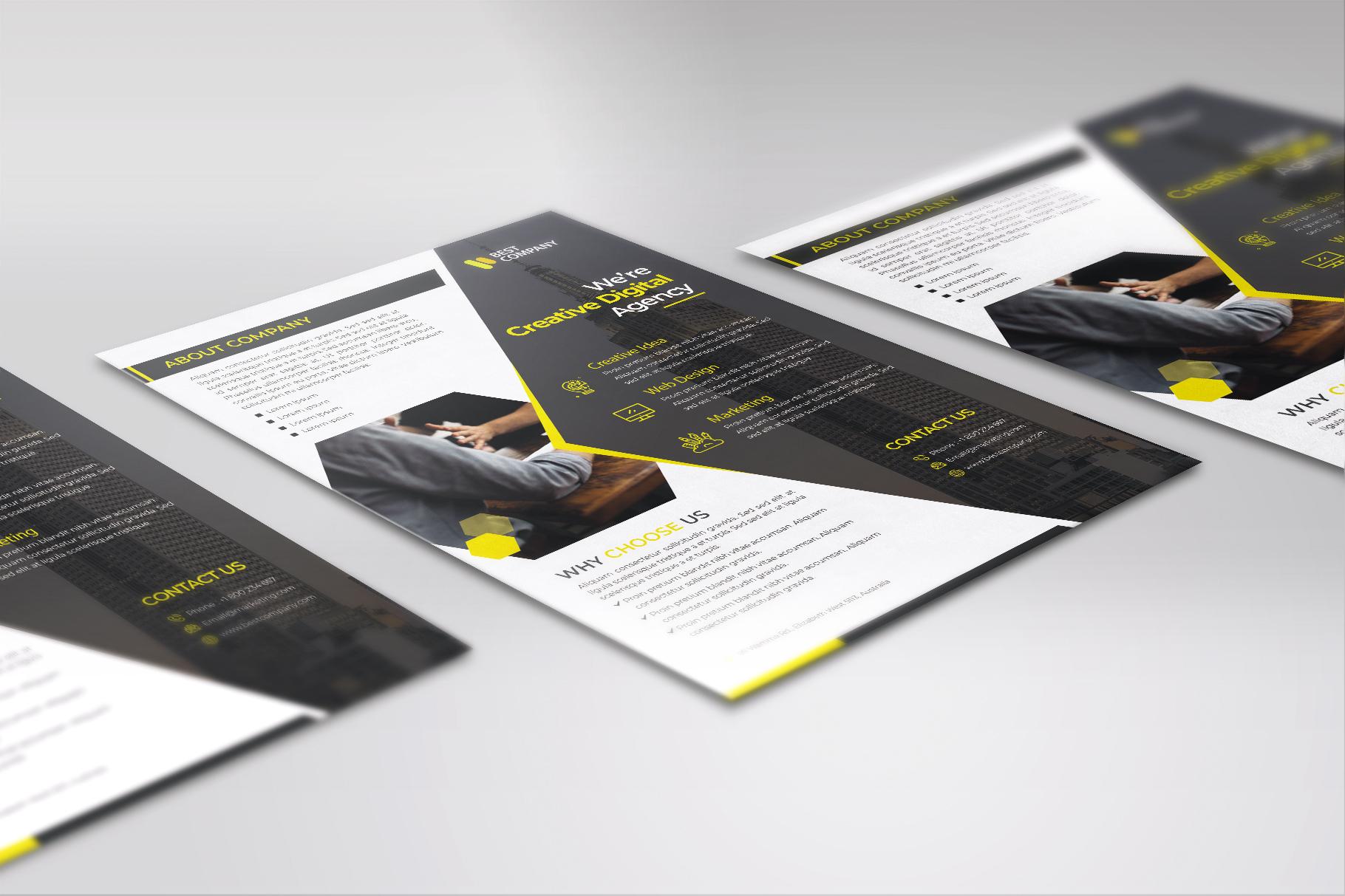 Creative Corporate Flyer Vol. 02 example image 3
