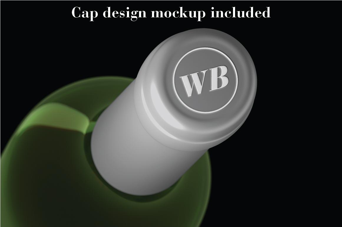 Wine Mockup Set - Photoshop PSD example image 6