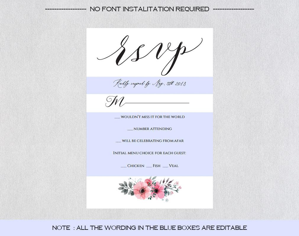 Wedding Invitation Template example image 4