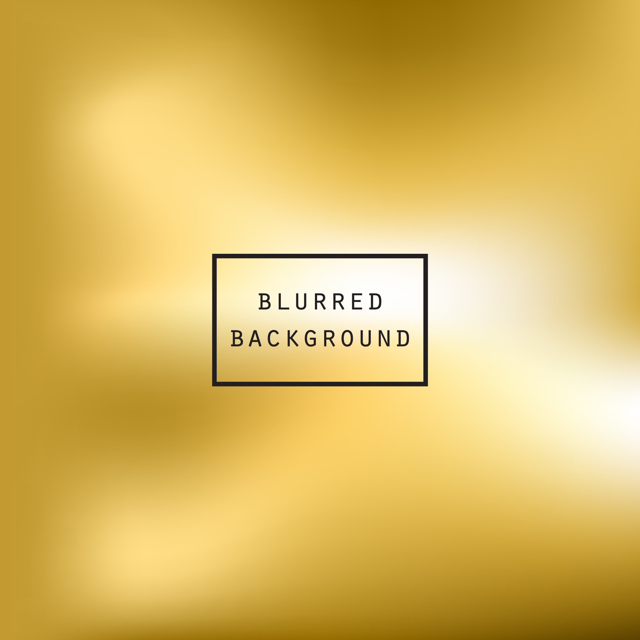 Blurred gold effect holographic gradient abstract background example image 5
