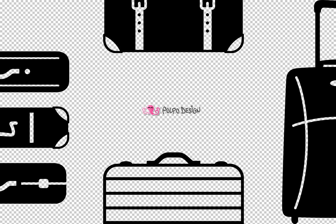 Luggage SVG example image 5