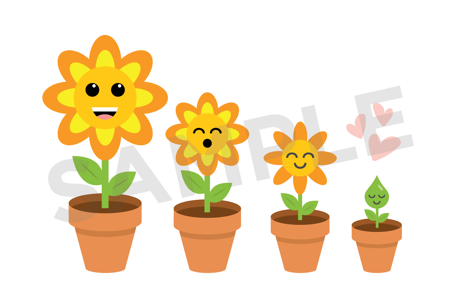 Cute Weather Clip Art Set example image 10