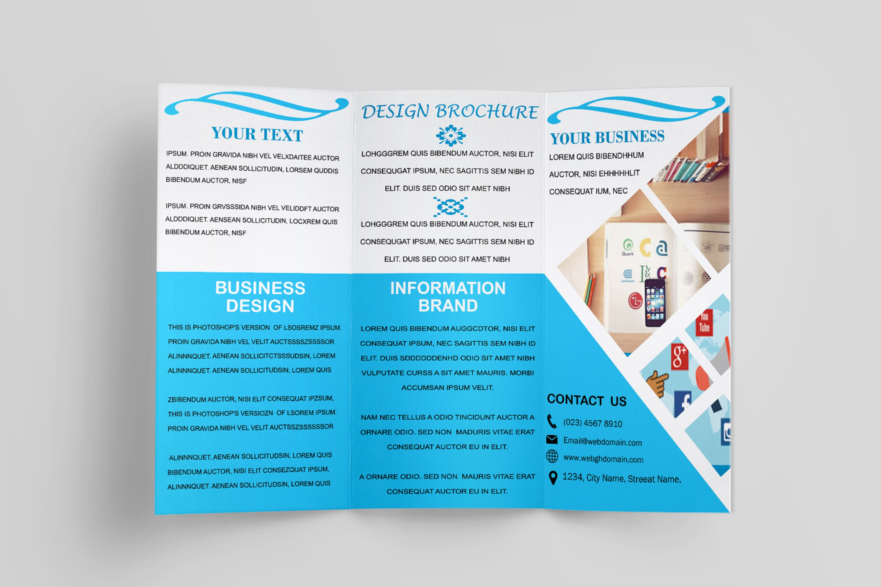 Trifold Brochure Template example image 3