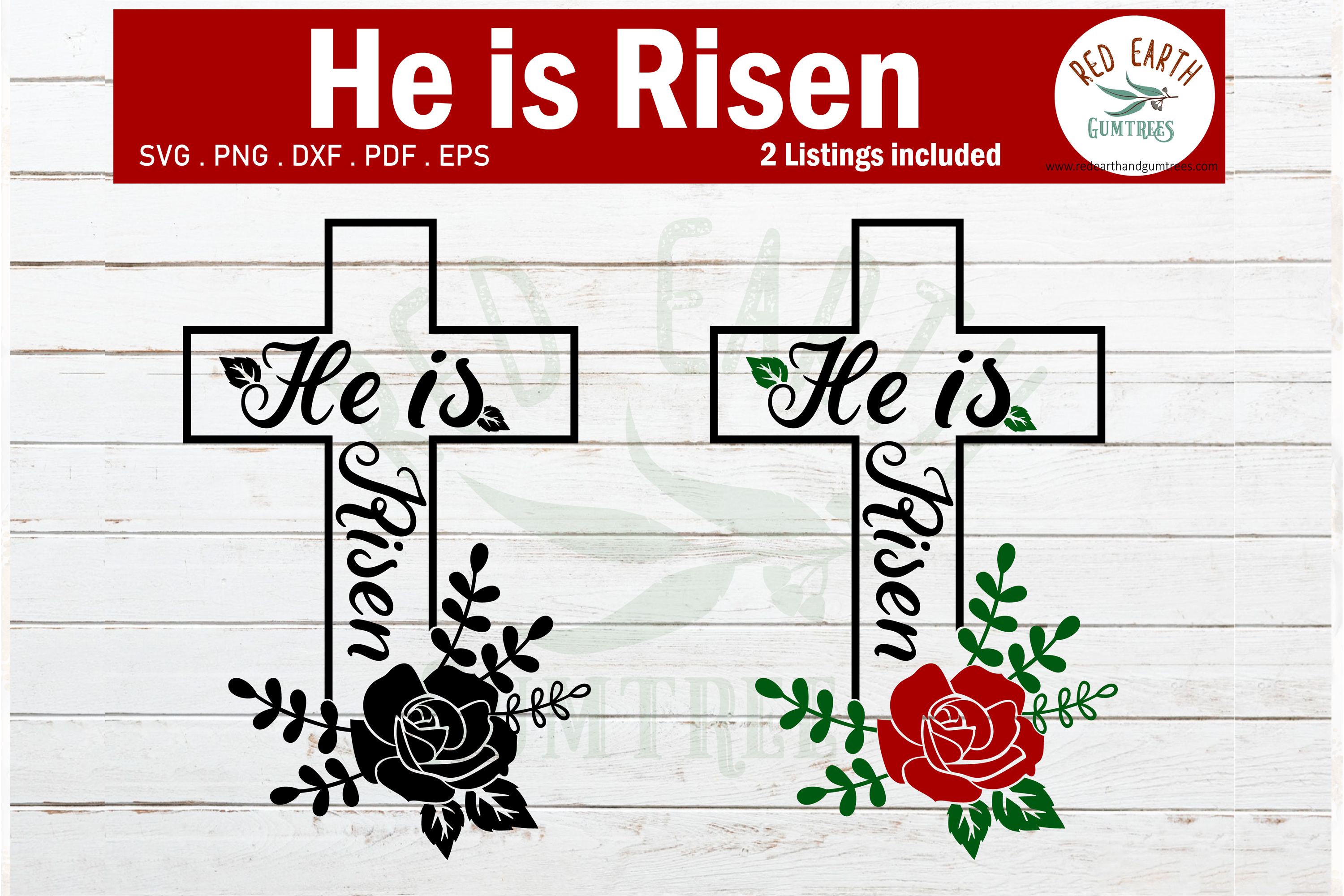 Easter He is risen bible verse,He has risen SVG,PNG,DXF,PDF example image 1