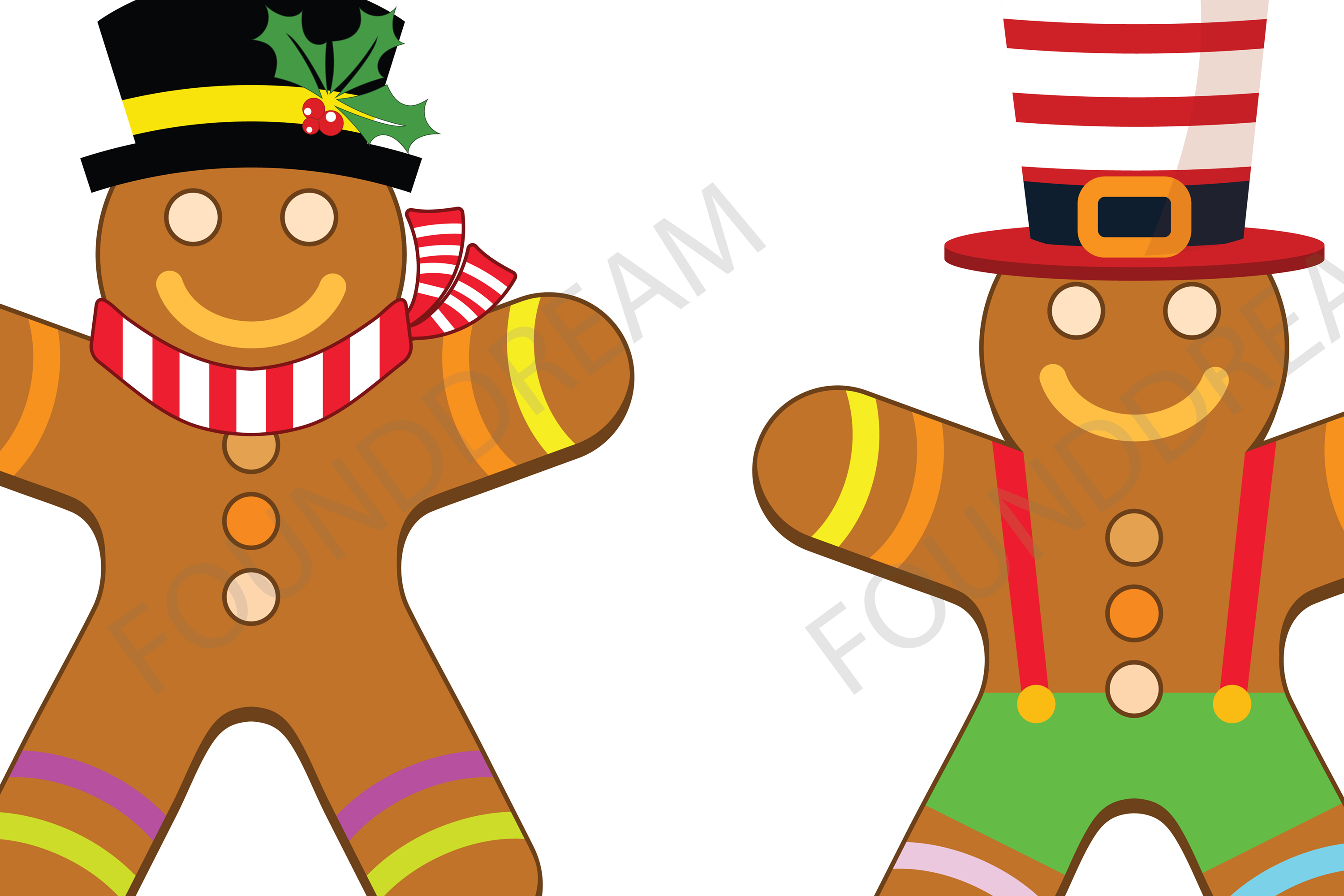 Christmas Gingerbread Clip art example image 3
