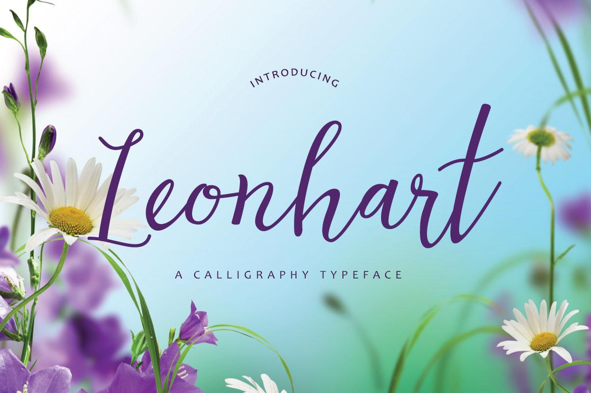 Leonhart Typeface example image 1
