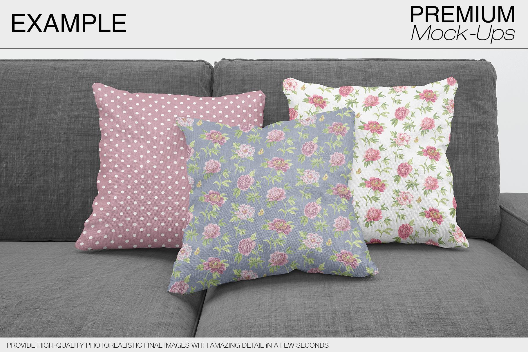 Pillow Mockups example image 4