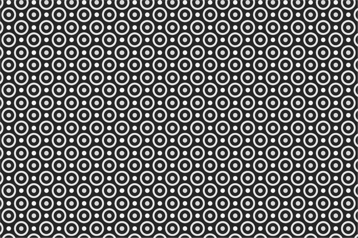 Dotted Seamless Patterns. example image 11