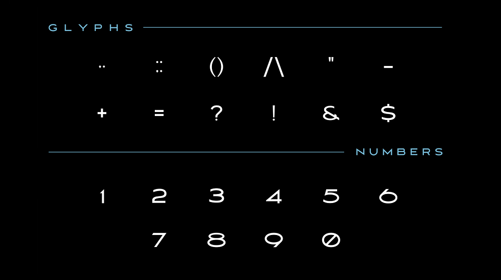 MAVERIX font example image 4