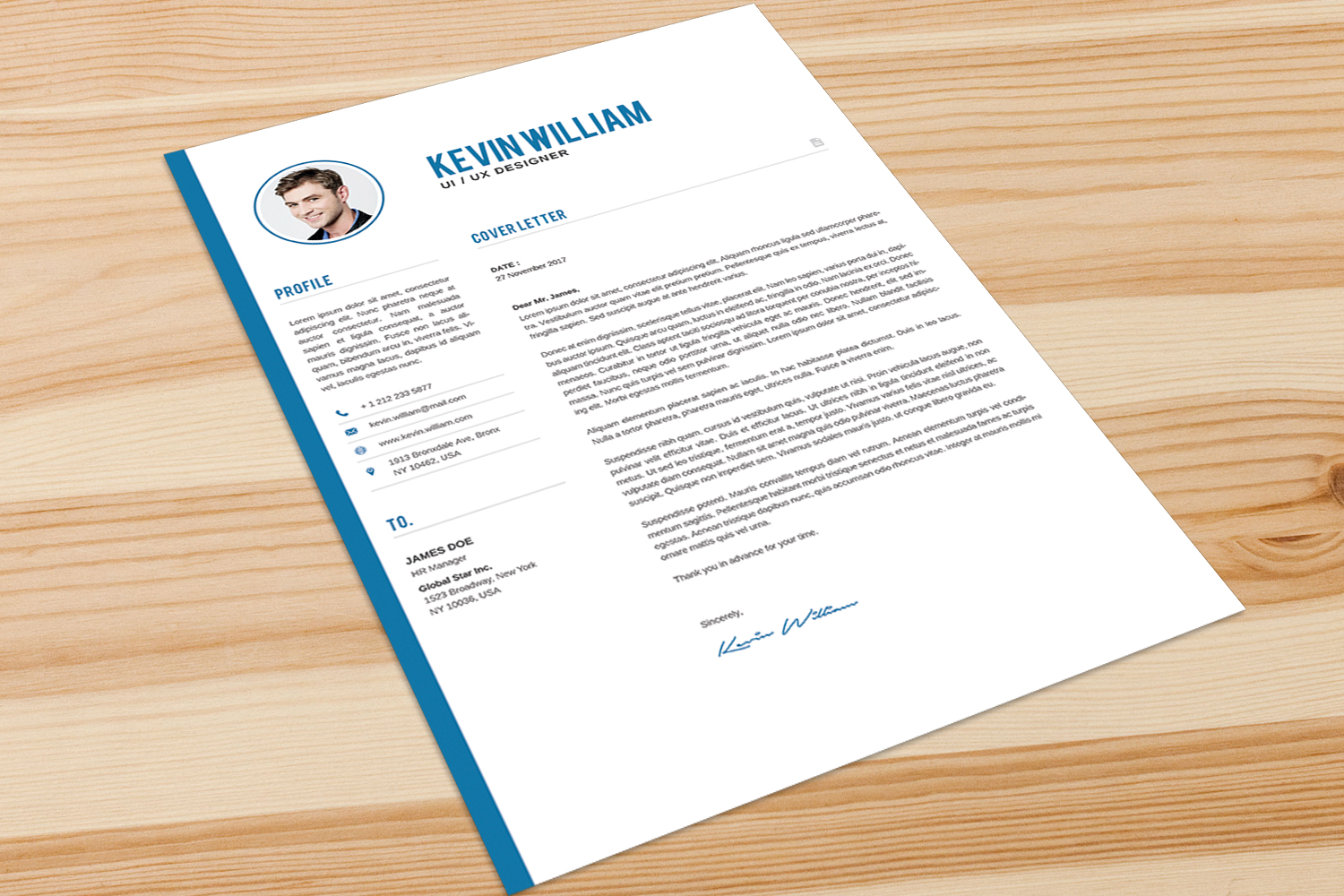Resume Template example image 5