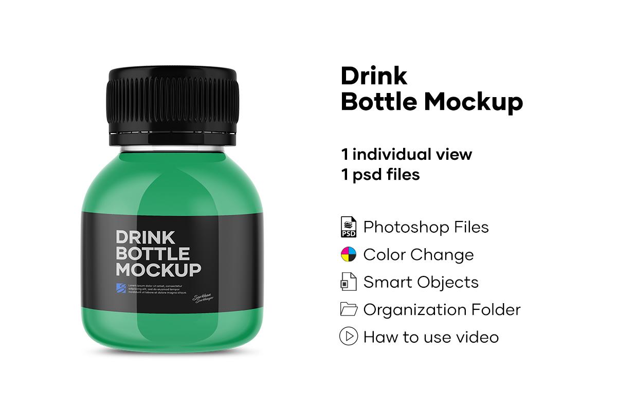 Drink Bottle Mockup example image 1