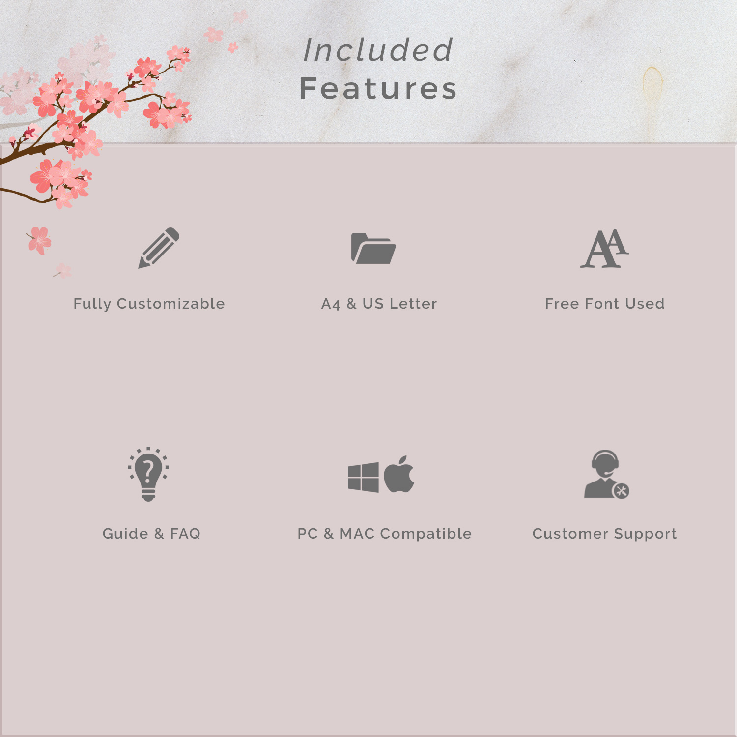 Creative Chic Resume Template 4 Pages example image 8