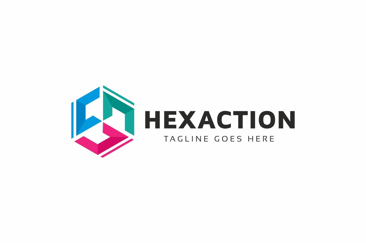 C Letter Hexagon Logo example image 3