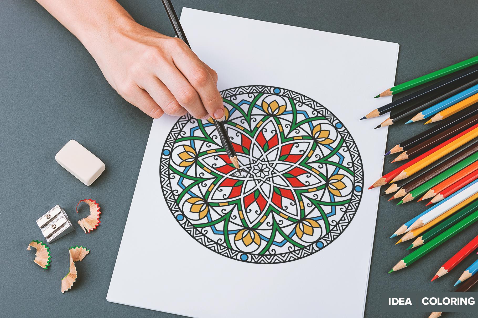530 Vector Mandala Ornaments Bundle example image 17
