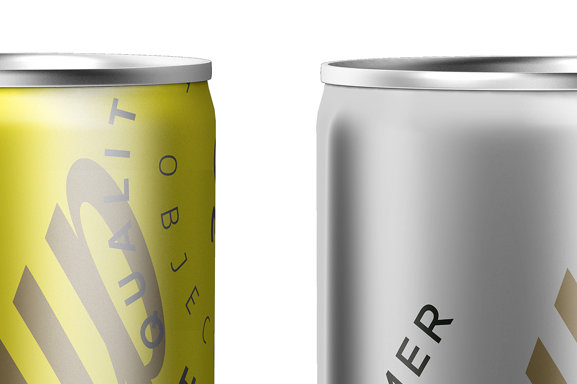 Energy Drink Can Mockup 250ml example image 5