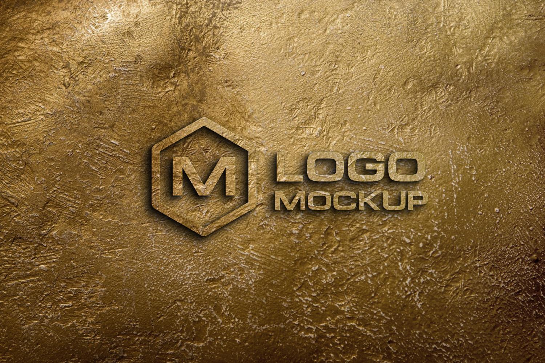 8 logo mockups, 3d wall mock up example image 7