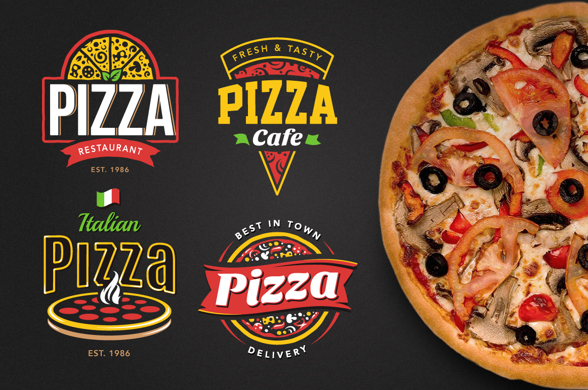 Pizza Logo Templates example image 2