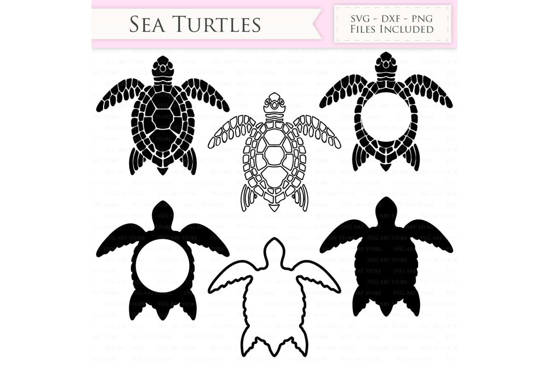 Download Sea Turtle SVG Files - swimming turtle, sea turtle ...